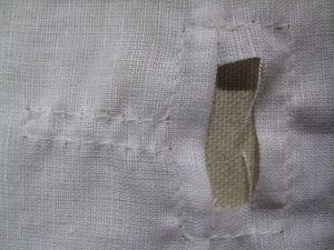 neckline stay stitched