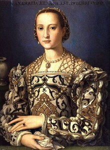 portrait of Eleanora de Toledo