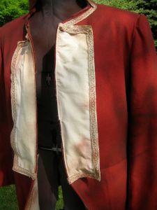 lapel closeup