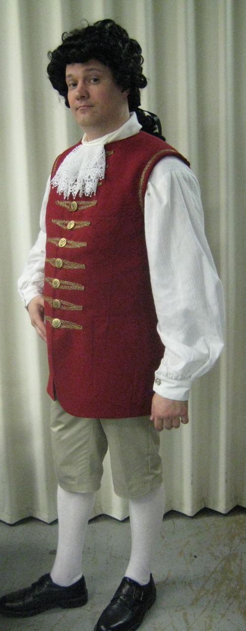 the finished vest