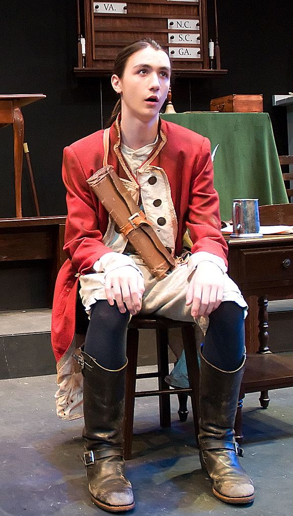 coat on actor