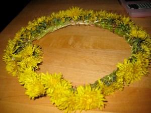complete hair wreath