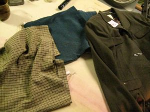 Additional skirts and jacket