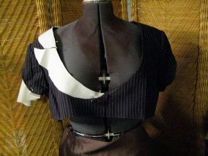 finished collar pattern