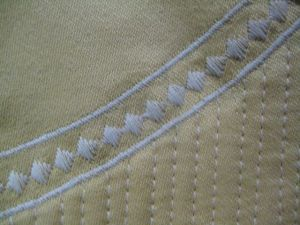 quilted channels