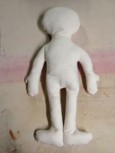 a cloth doll
