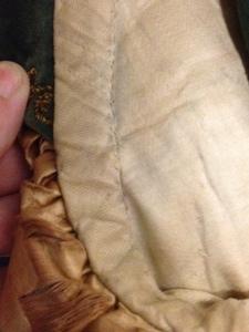 Detail inside leg cuff
