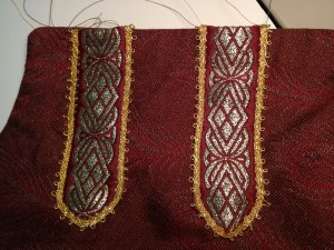 Picot edge trim added