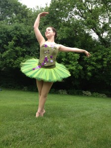 tutu on dancer