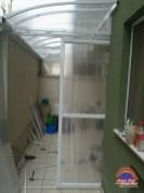 Cobertura para varanda Policarbonato - Sem Sol Toldos e Coberturas