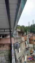 Coberturas para terraço com Telhas galvalume Grajaú