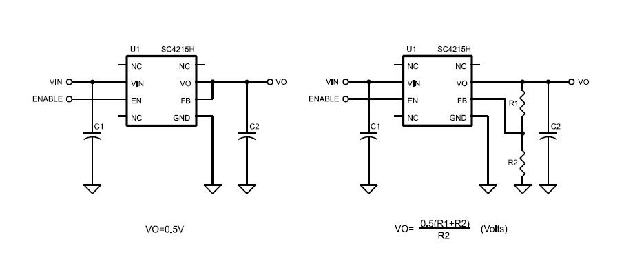 SC4215H Very Low Input Very Low Dropout 2A Linear