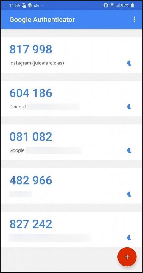 Ukázka fungování 2FA v Google Authenticator