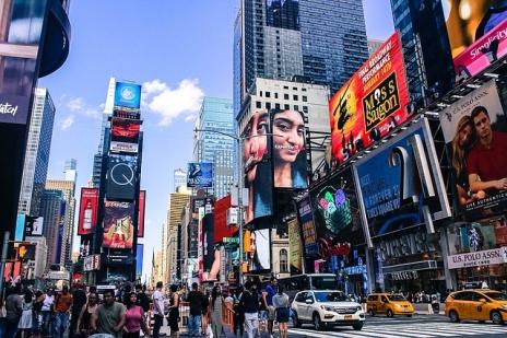 Reklamy na Times Square