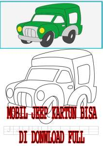 Read more about the article BUKU GAMBAR ANAK MOBIL JEEP FULL