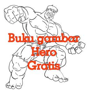buku gambar hero full