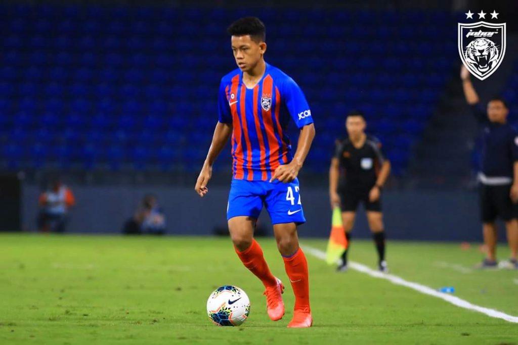 Arif Aiman JDT Felda United Liga Super 2020