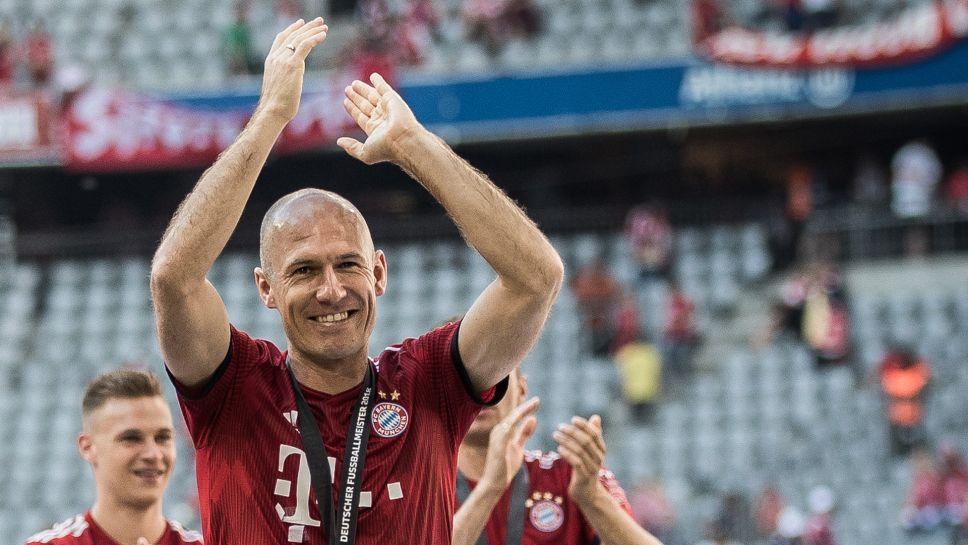Arjen Robben Bayern Munich 2019