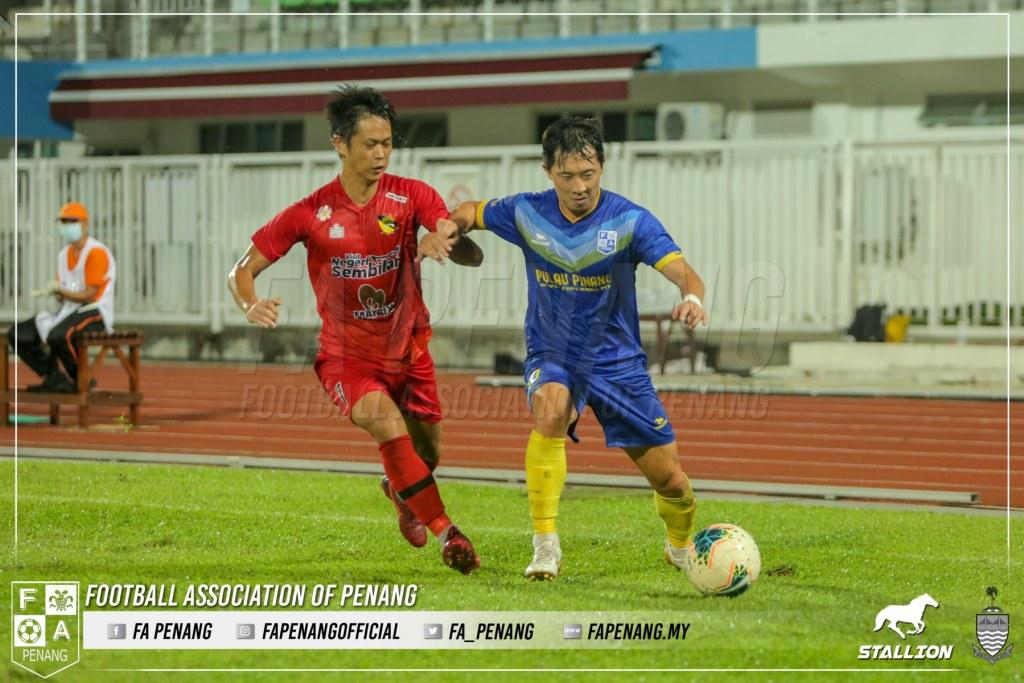 Lee Chang-hoon Pulau Pinang Negeri Sembilan Liga Premier 2020