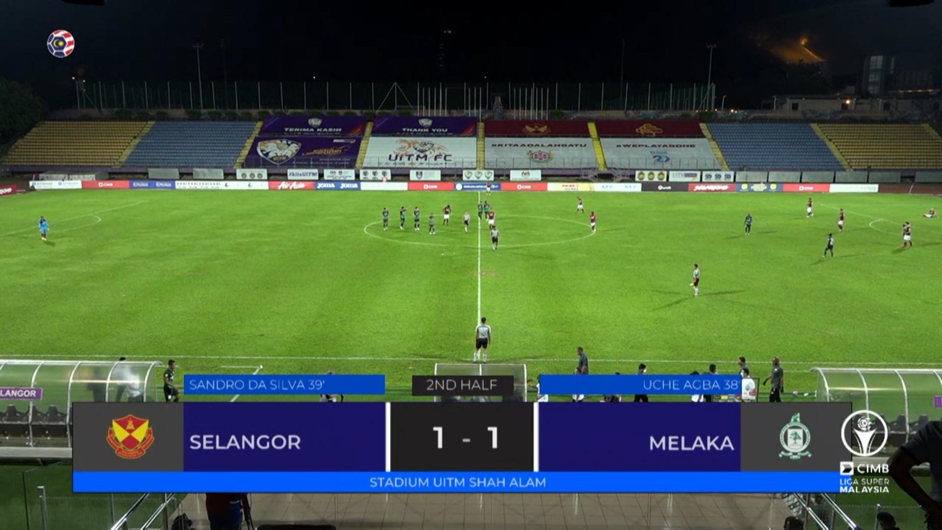 msl 2020 Selangor