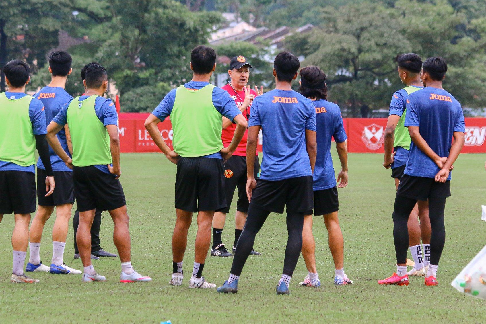 Michael Feichtenbeiner Selangor 2020 latihan