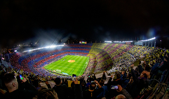 Nou Camp Barcelona Lionel Messi
