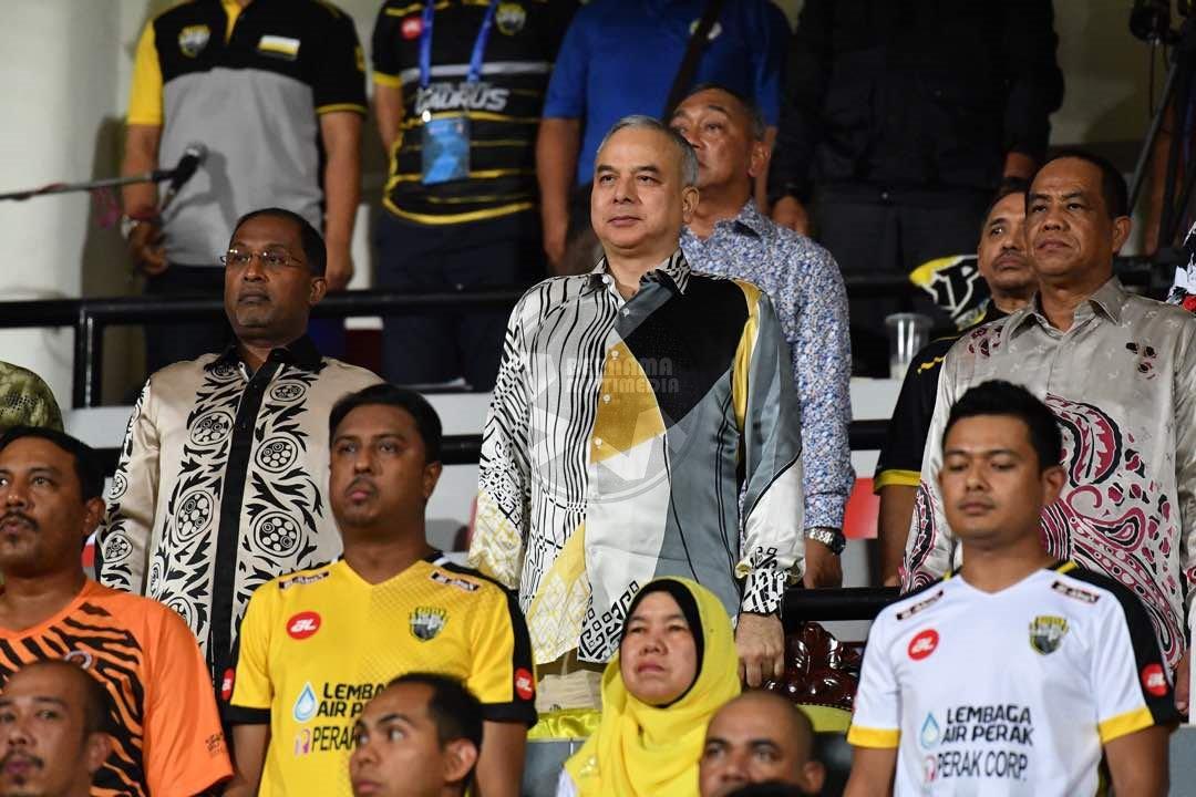 Sultan Nazrin Perak FC Logo