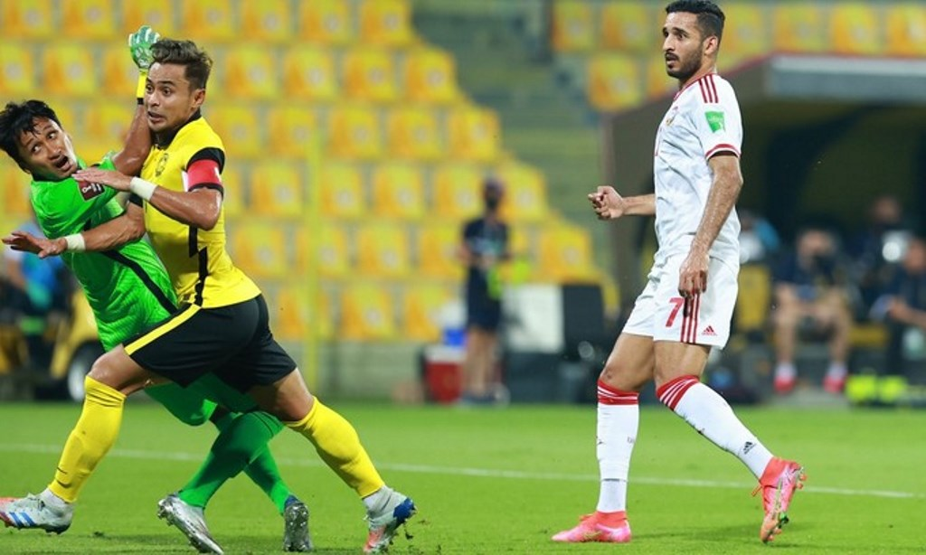 Ali Mabkhout Aidil Zafuan Farizal Malaysia UAE 2021