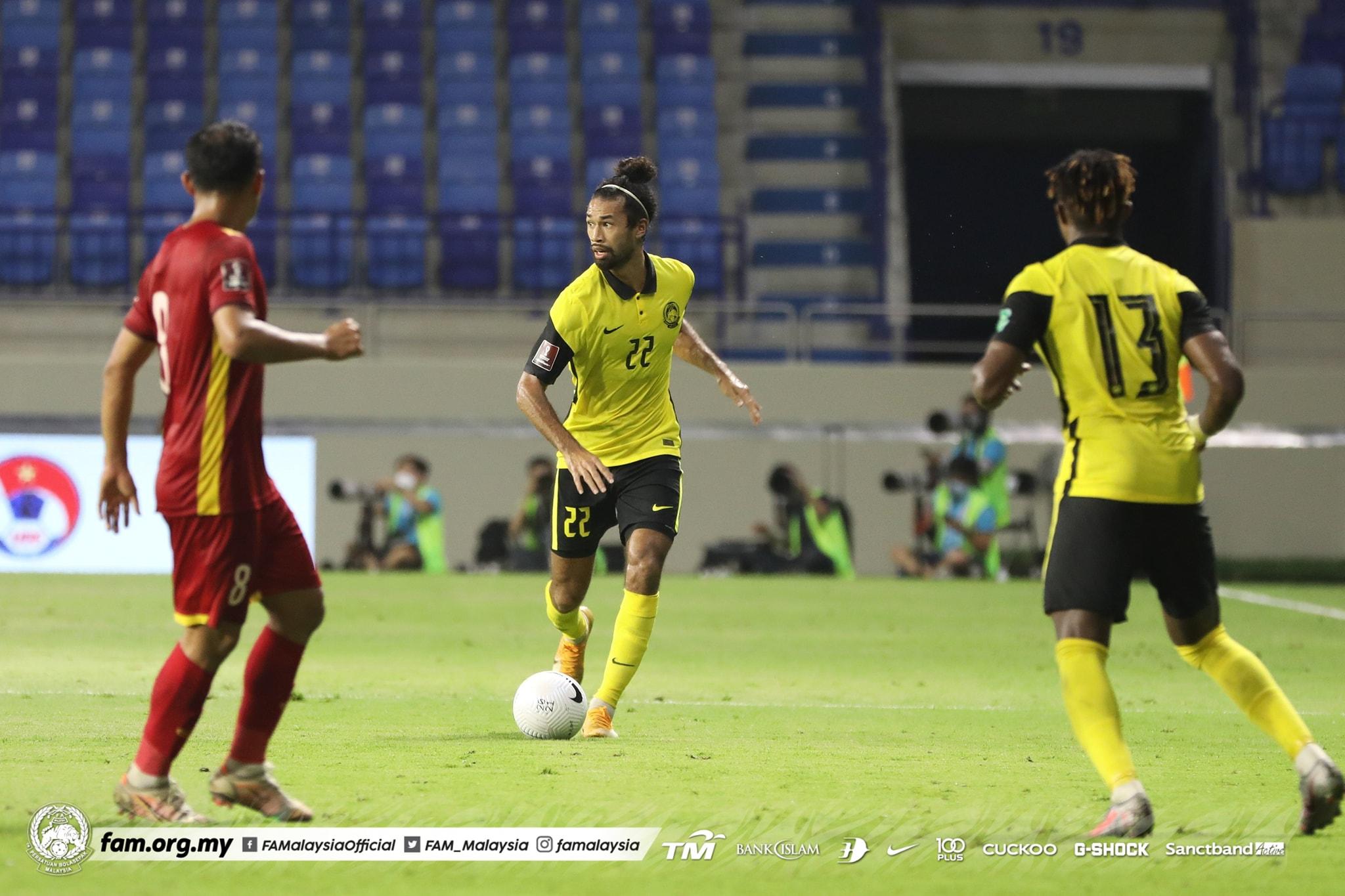 Corbin Ong Malaysia Vietnam Kelayakan Piala Dunia 2021
