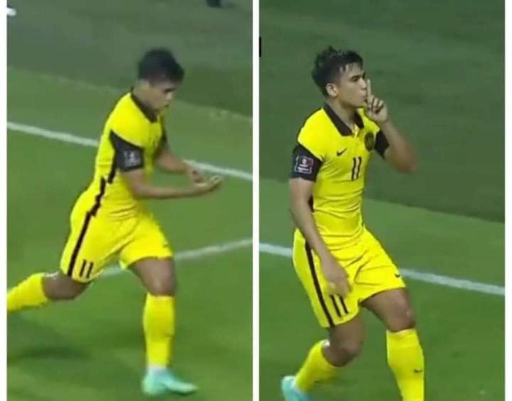 Safawi Rasid gaya rai gol Thailand kelayakan Piala dunia 2021 de paula