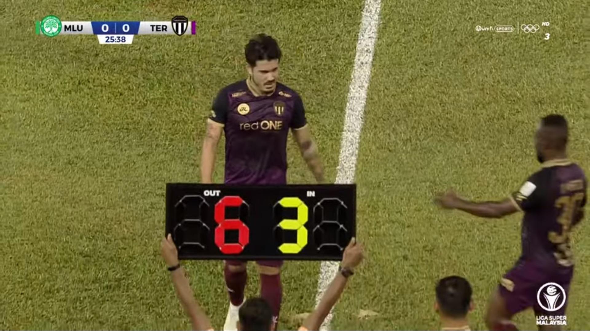Carli de Murga Terengganu Melaka United