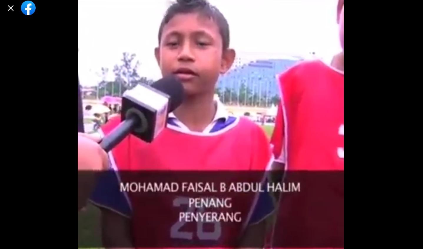 Soccer Kids TV3 pemain cilik pemain ternama Malaysia