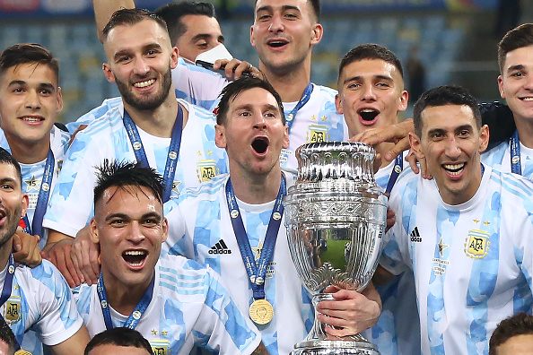 Lionel Messi Angel Di Maria