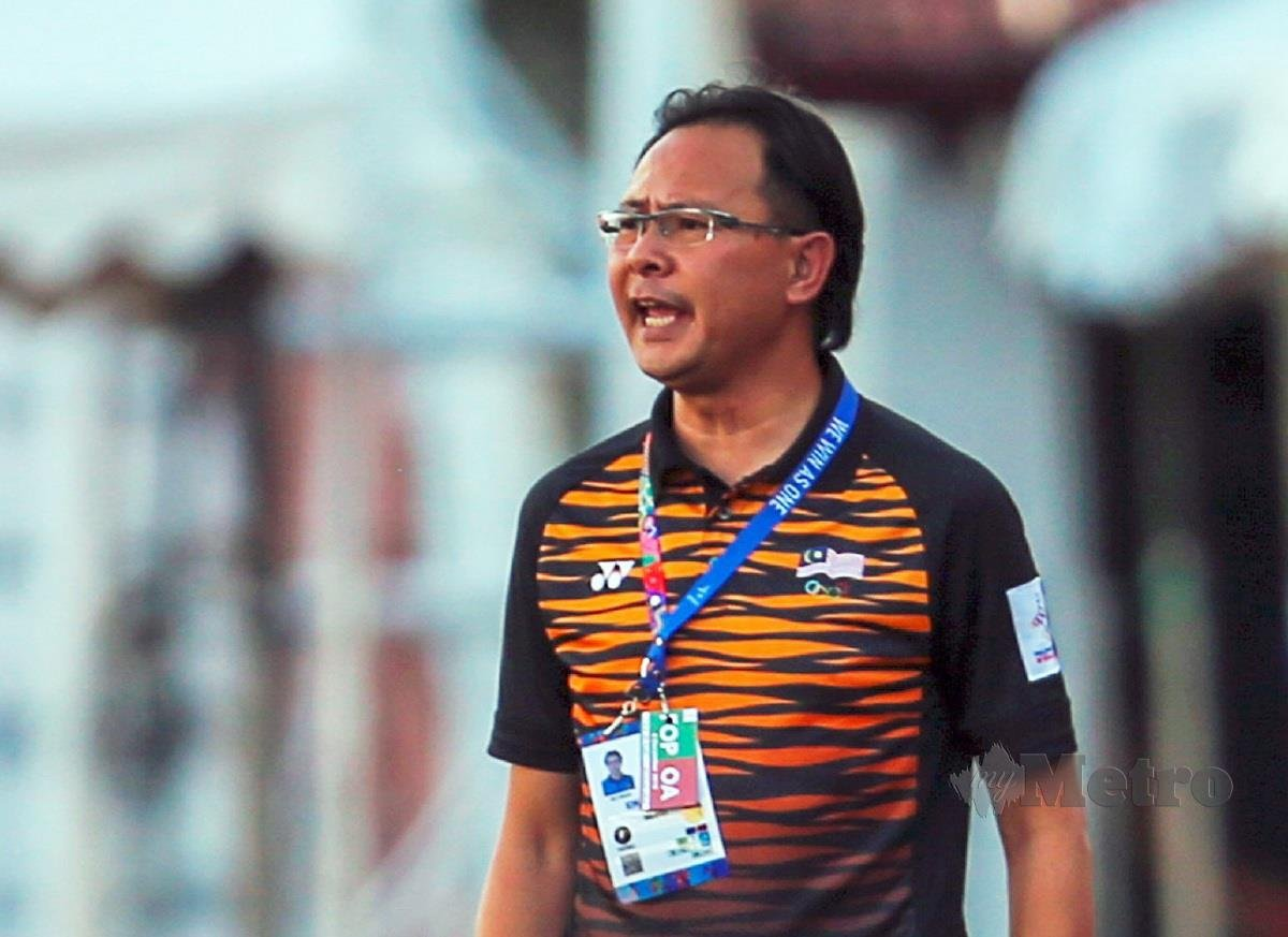 ong kim swee harimau malaya ranking fifa