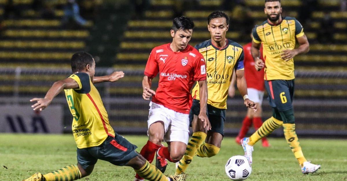 KL City Kedah Liga Super 2021 rekod tanpa kalah