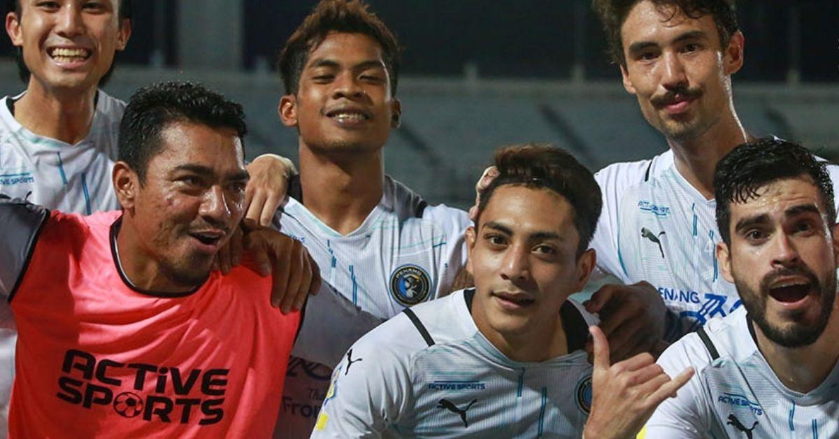 Penang FC Sri Pahang Liga Super 2021