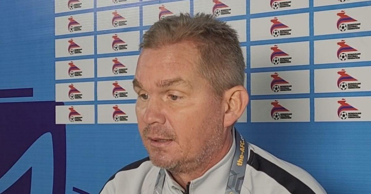 Brad Maloney B-22 Kelayakan Piala Asia B-23 Laos bertuah menang