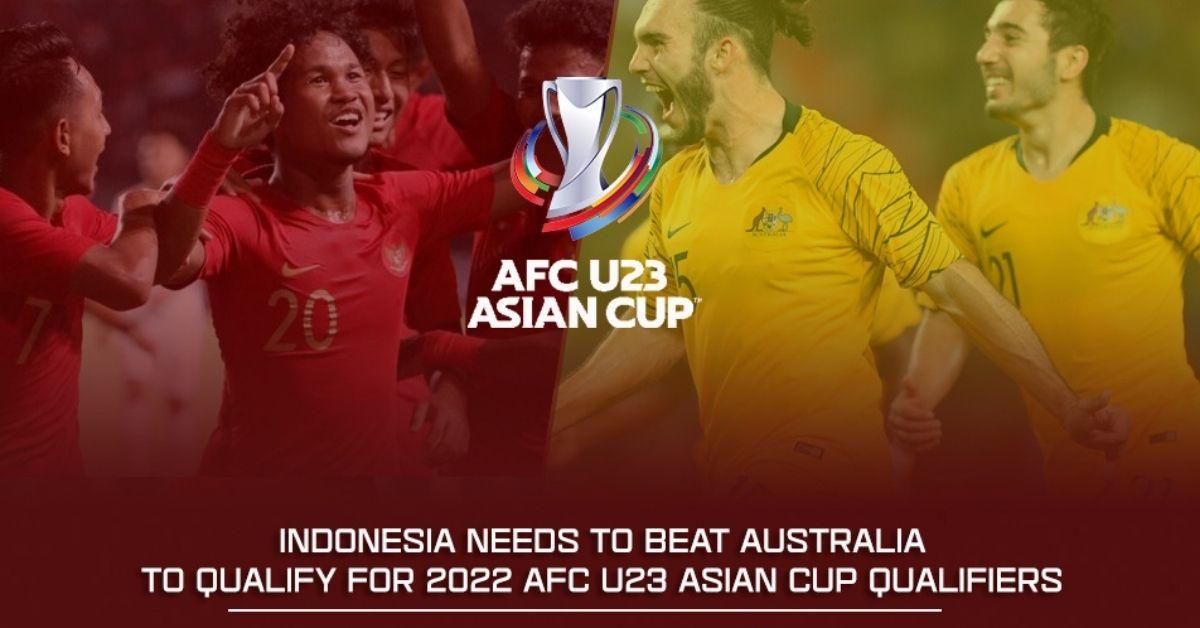 Indonesia Australia kelayakan Piala Asia B-23