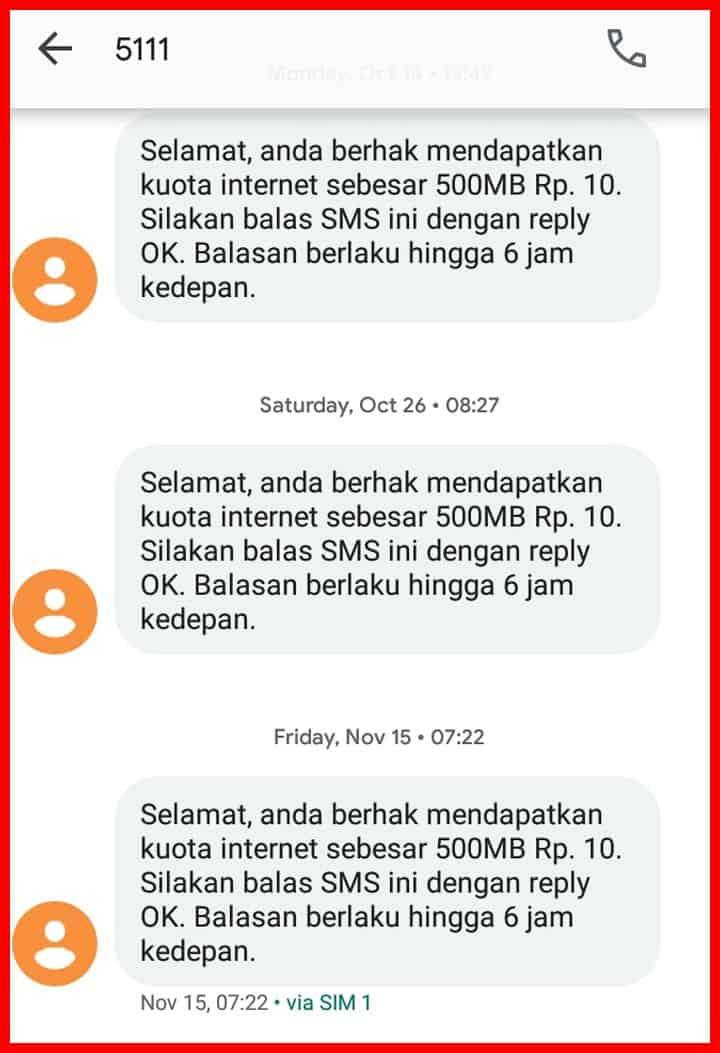 cara mendapatkan kuota gratis telkomsel tanpa aplikasi