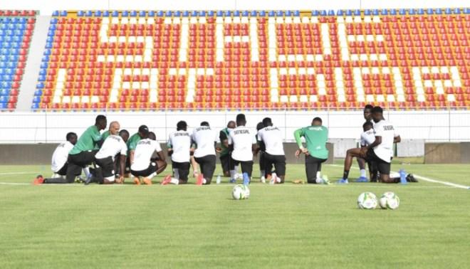 Regroupement : Aliou Cissé installe un huis clos autour des Lions, deux séances ouvertes à la presse...