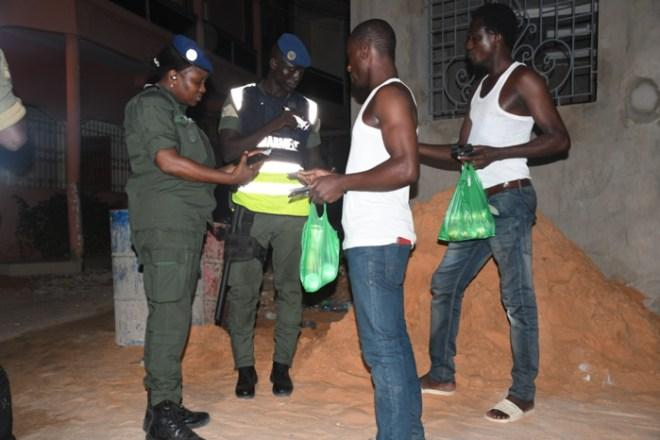 Opération contre l'insécurité : La gendarmerie fait le bilan de sa descente musclée dans certains quartiers de Dakar