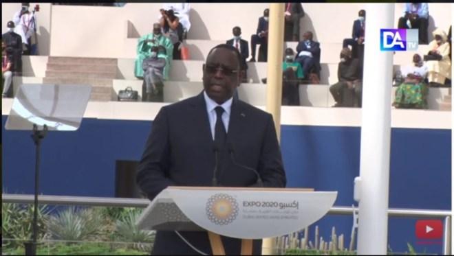 Expo Dubaï 2020- Propreté à Dakar : le coup de gueule du Chef de l'Etat Macky Sall