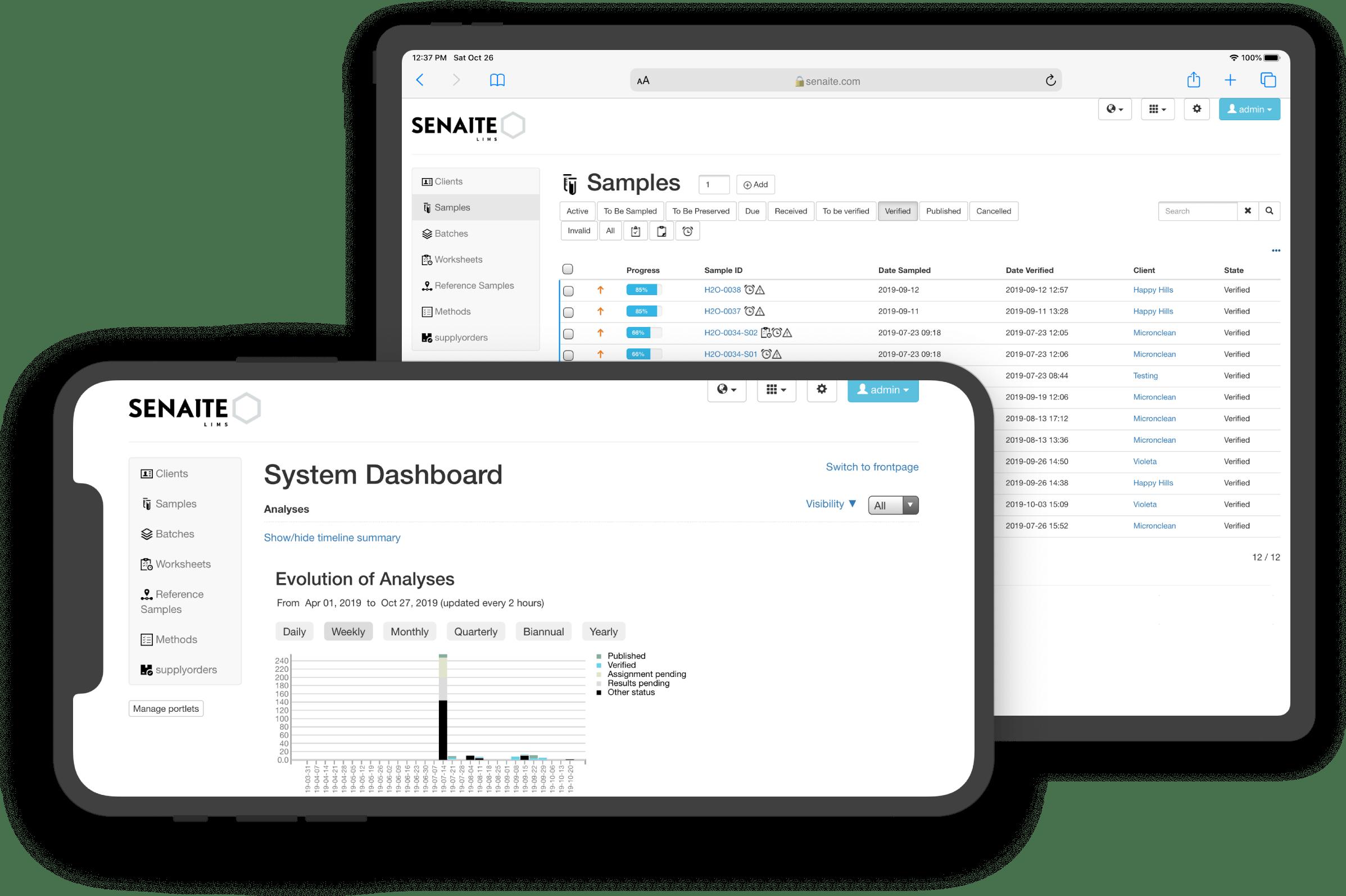 SENAITE · Enterprise Open Source Laboratory System