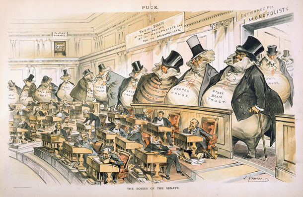 Joseph Kepplers Cartoon On Why We Need The 17th Amendment Millard