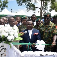 Cross River, Nigerian Army Break ground for Multi billion Naira Mega City