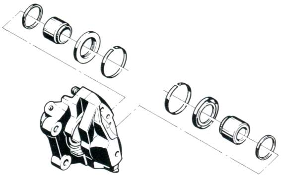 Bremssättel überholen