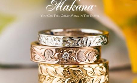 結婚指輪 マカナ ハワイアンジュエリー