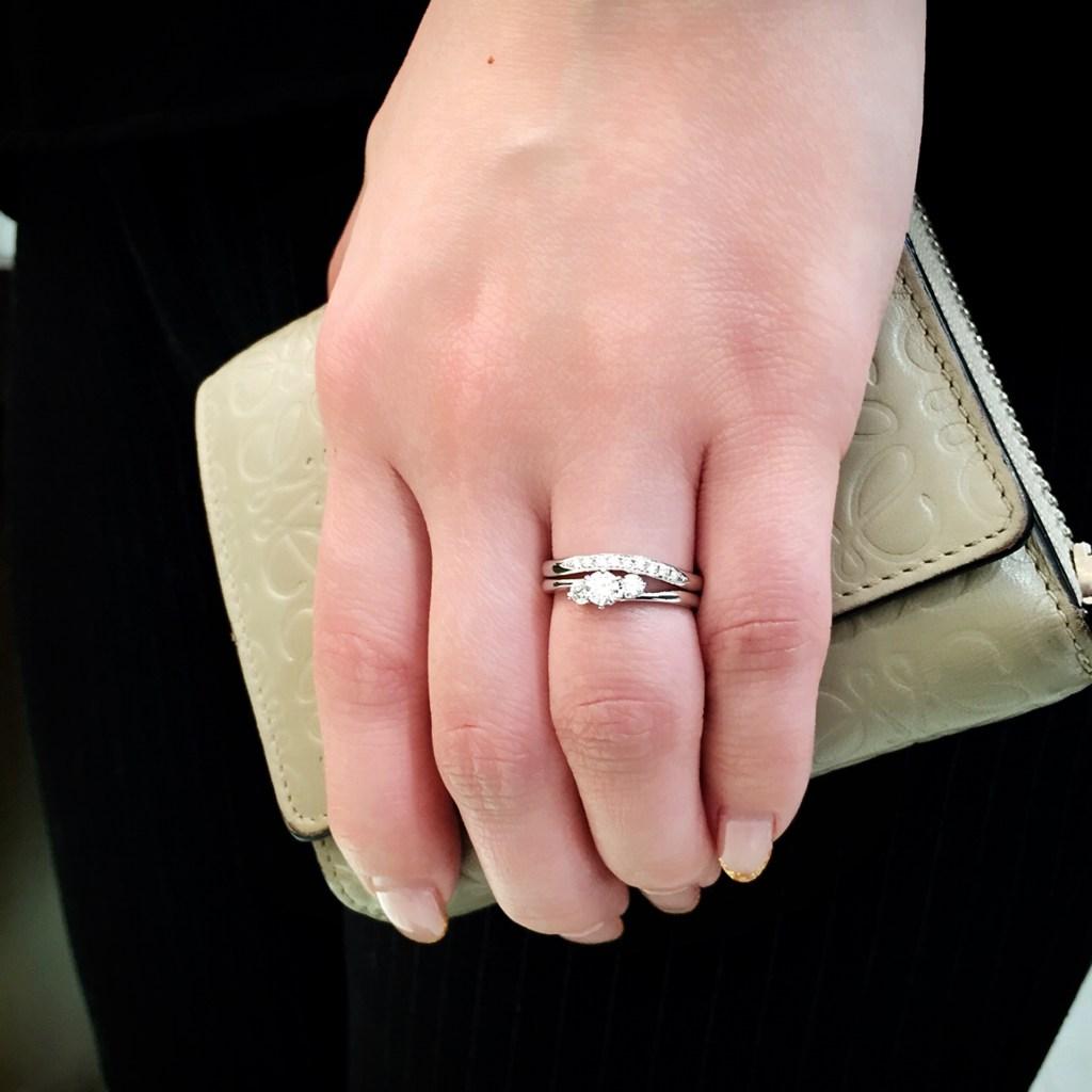 結婚指輪 婚約指輪 仙台 コーデ