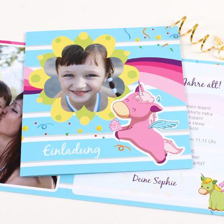 Einladungskarten zum Geburtstag selbst gestalten