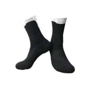 chaussettes de basket noir